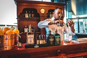 Copperhead gin bar